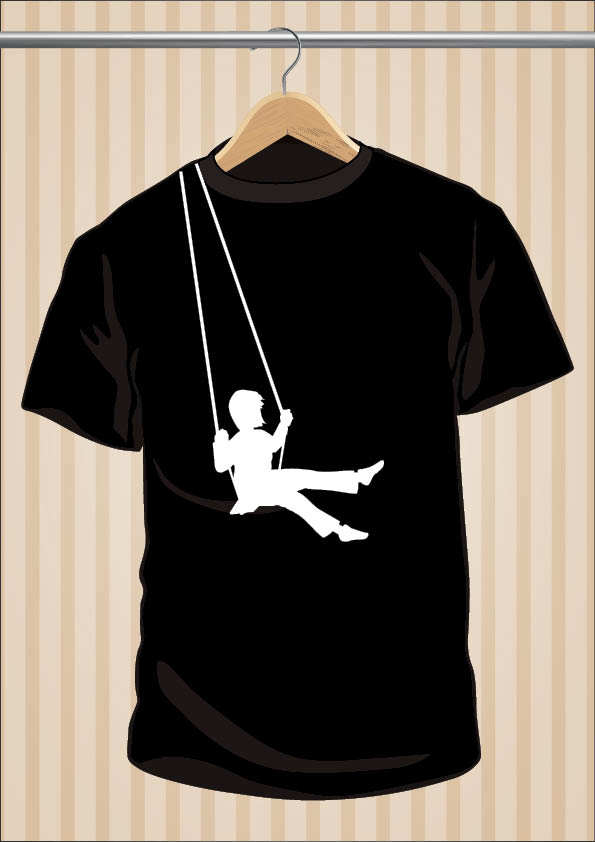 Swing T-Shirt by UppStudio