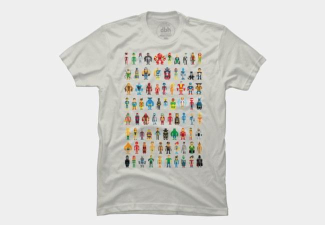 Pixel Heroes T-Shirt