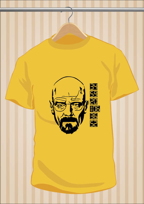 Camiseta Walter White Breaking Bad
