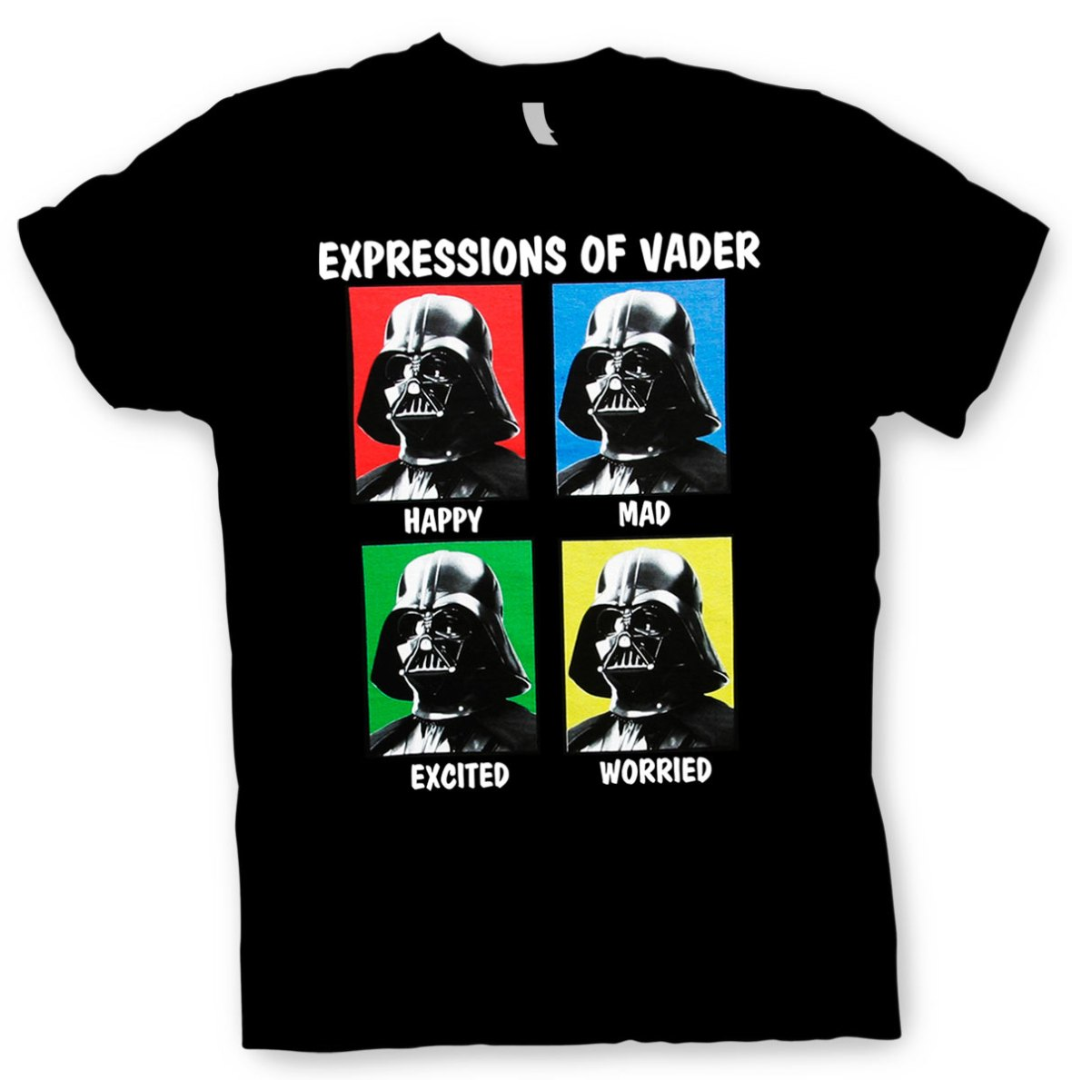 Darth Vader Expressions T-Shirt | Star Wars
