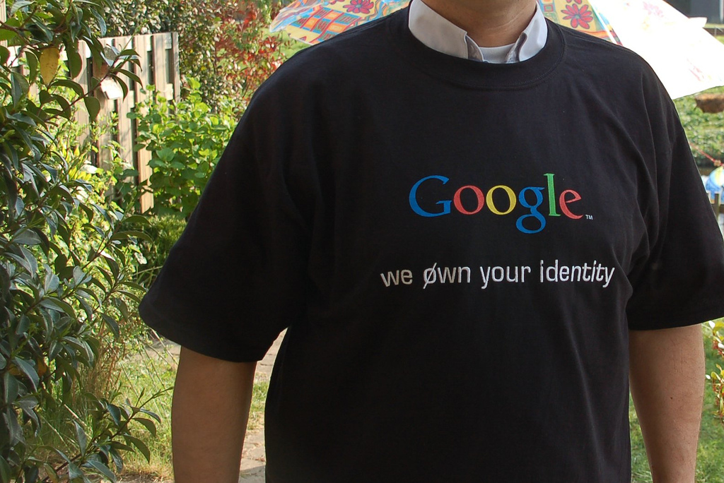 Google: I Own Your Identity T-Shirt