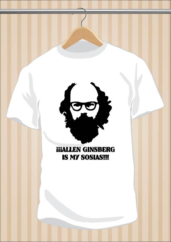 Allen Ginsberg Is My Sosias T-Shirt | UppStudio