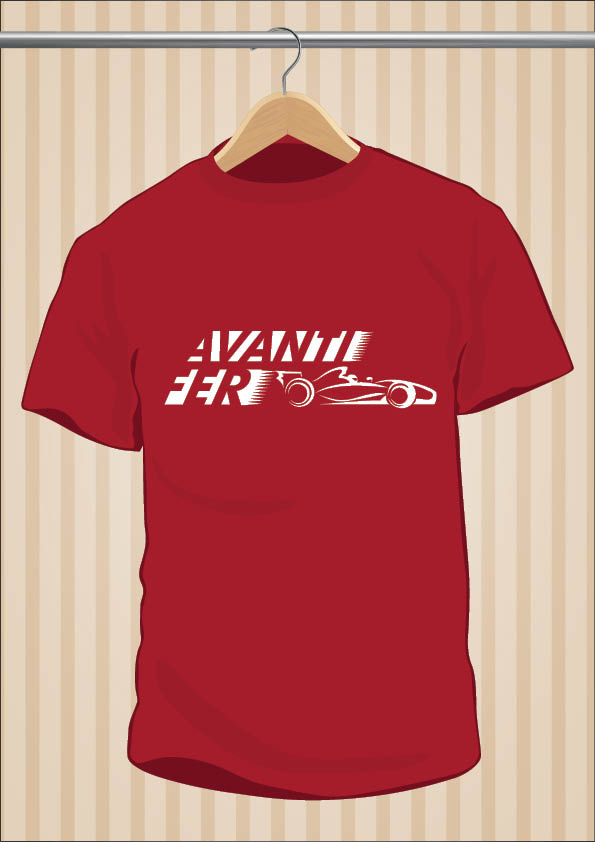 Fernando Alonso T-Shirt Avanti Fer - UppStudio