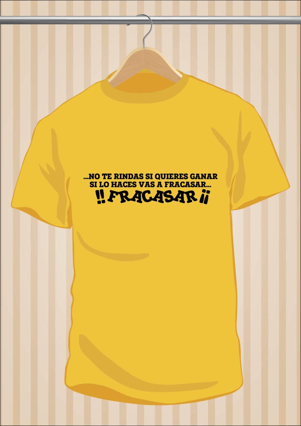Flos Mariae No Te Rindas Si Quieres Ganar Si Lo Haces Vas a Fracasar T-Shirt - UppStudio