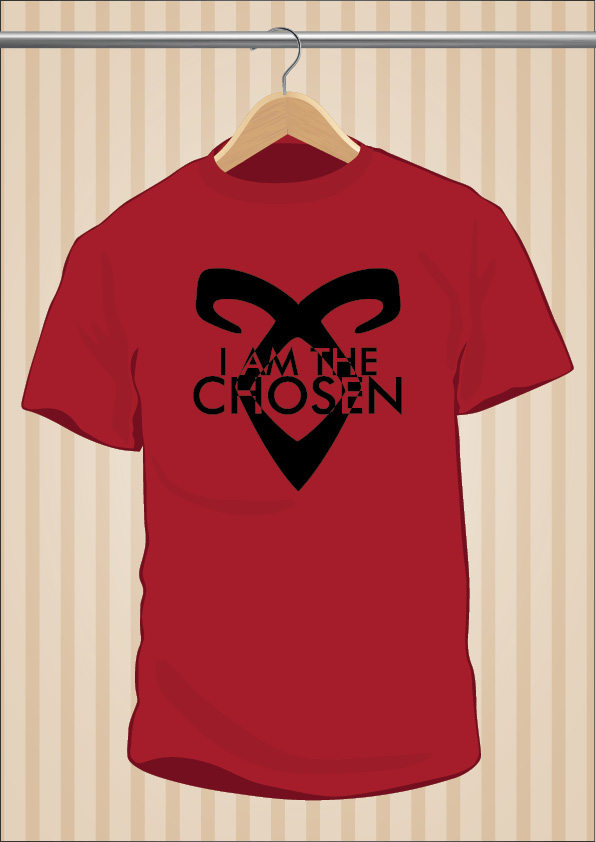 I Am The Chosen The Mortal Instruments T-Shirt Tee