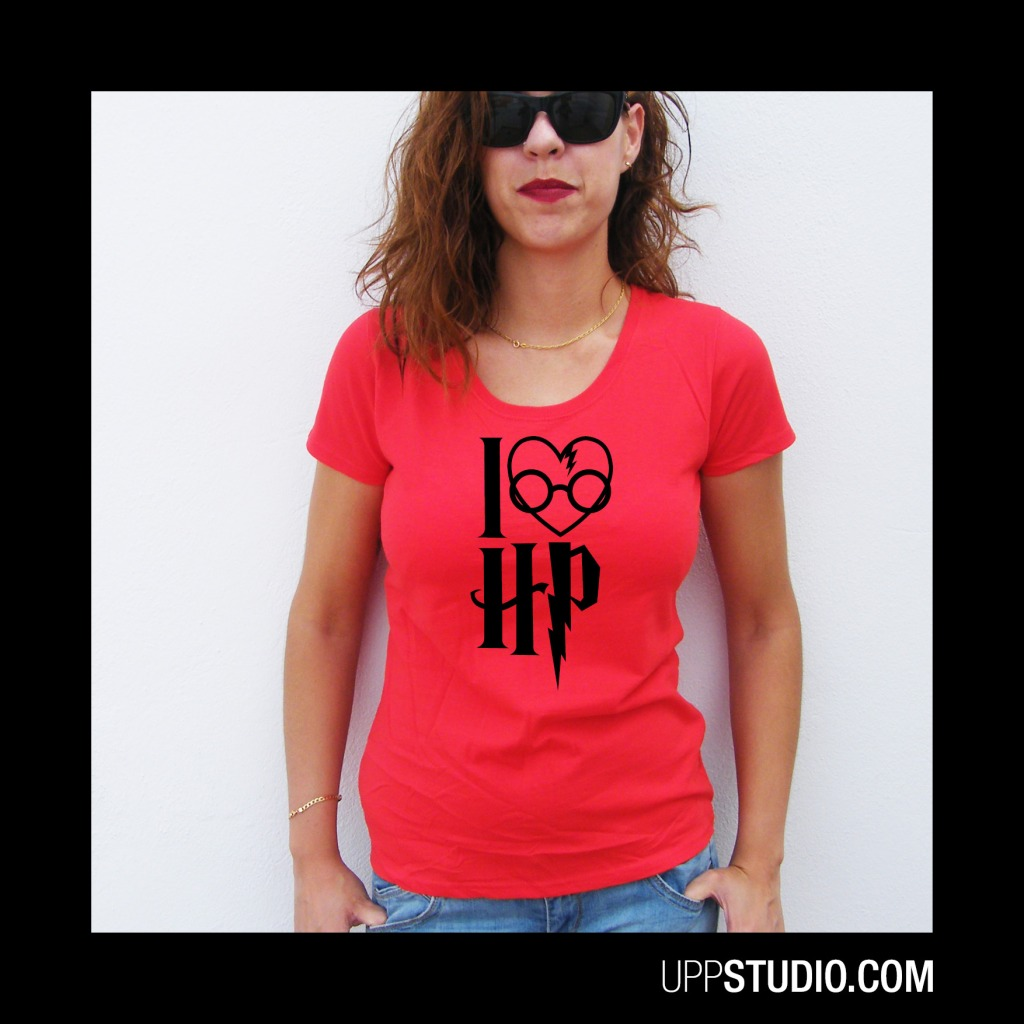 I Love Harry Potter T-Shirt Tee | UppStudio