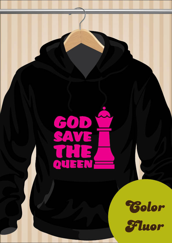 God Save The Queen Hoodie - UppStudio