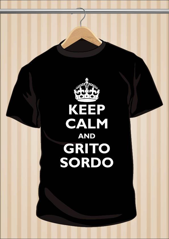 Ignatius Farray T-Shirt | Keep Calm And Grito Sordo