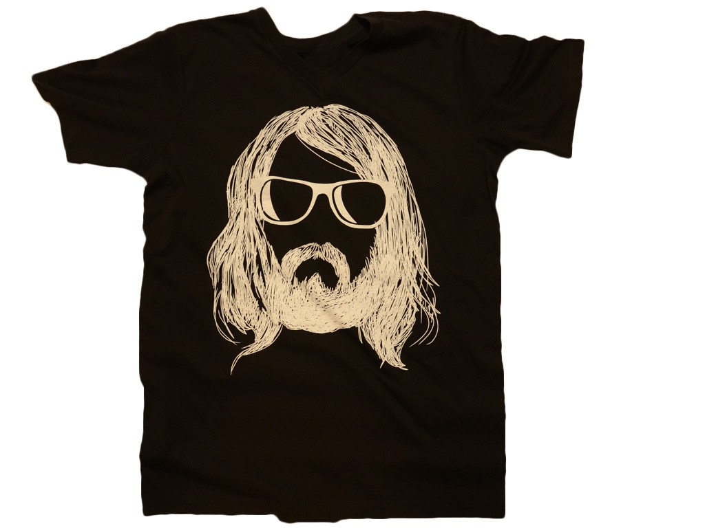 Hipster With Beard T-Shirt