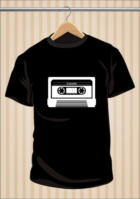 iCassette T-Shirt - UppStudio