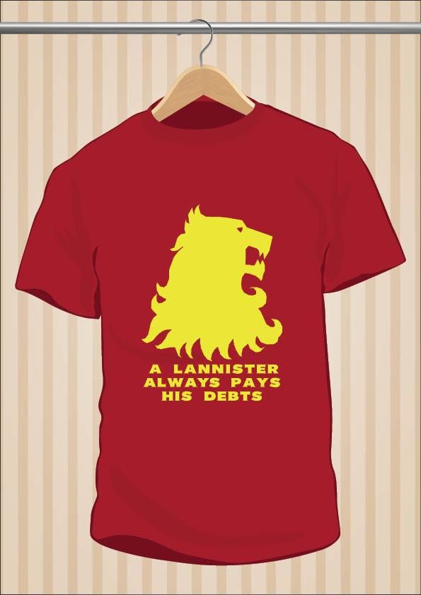 A Lannister Always Pays His Debts - UppStudio