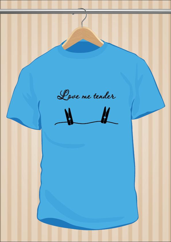 Elvis Presley T-Shirt | Love Me Tender | UppStudio