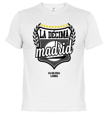 Real Madrid T-Shirt | La Décima