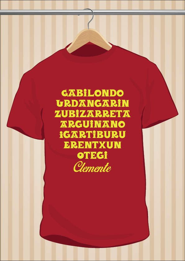Eight Basque Surnames T-Shirt