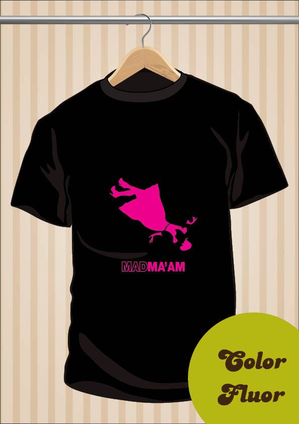 Mad Men T-Shirt | Mad Ma'am