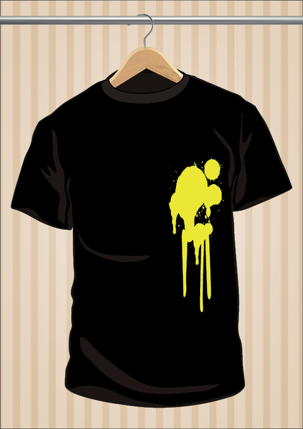 Dirty T-Shirt | UppStudio