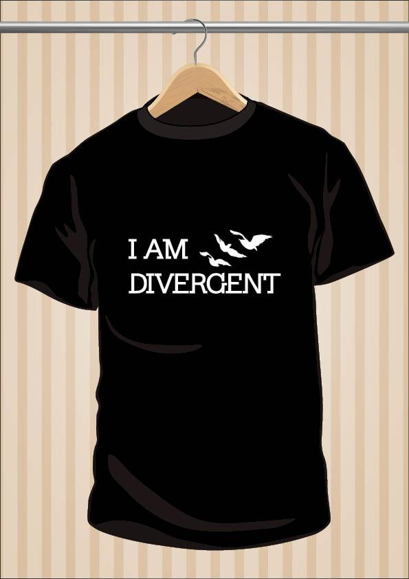 I Am Divergent T-Shirt | UppStudio