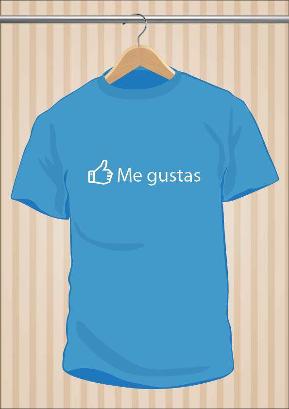 Facebook T-Shirt | UppStudio