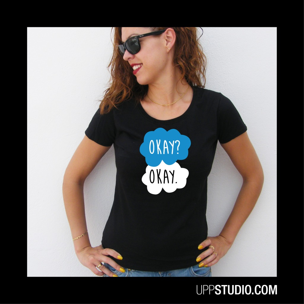 OKAY The Fault In Our Stars TFIOS T-Shirt Tee | UppStudio