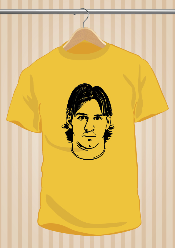Leo Messi T-Shirt | UppStudio