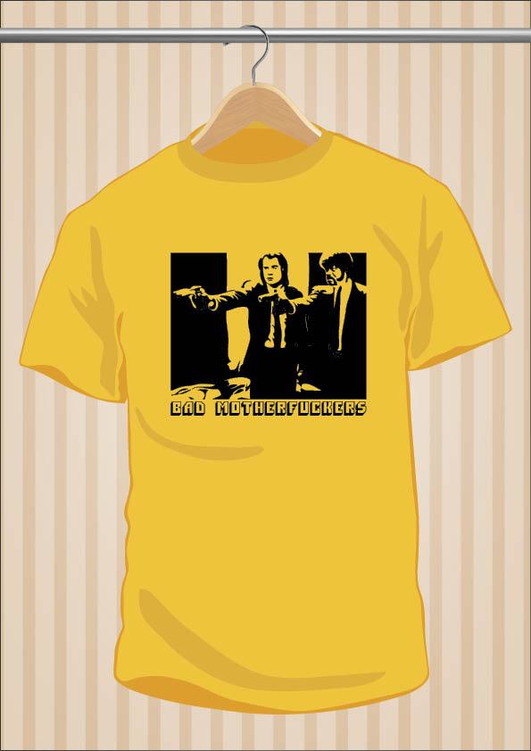 Pulp Fiction T-Shirt | Bad Motherfuckers | UppStudio
