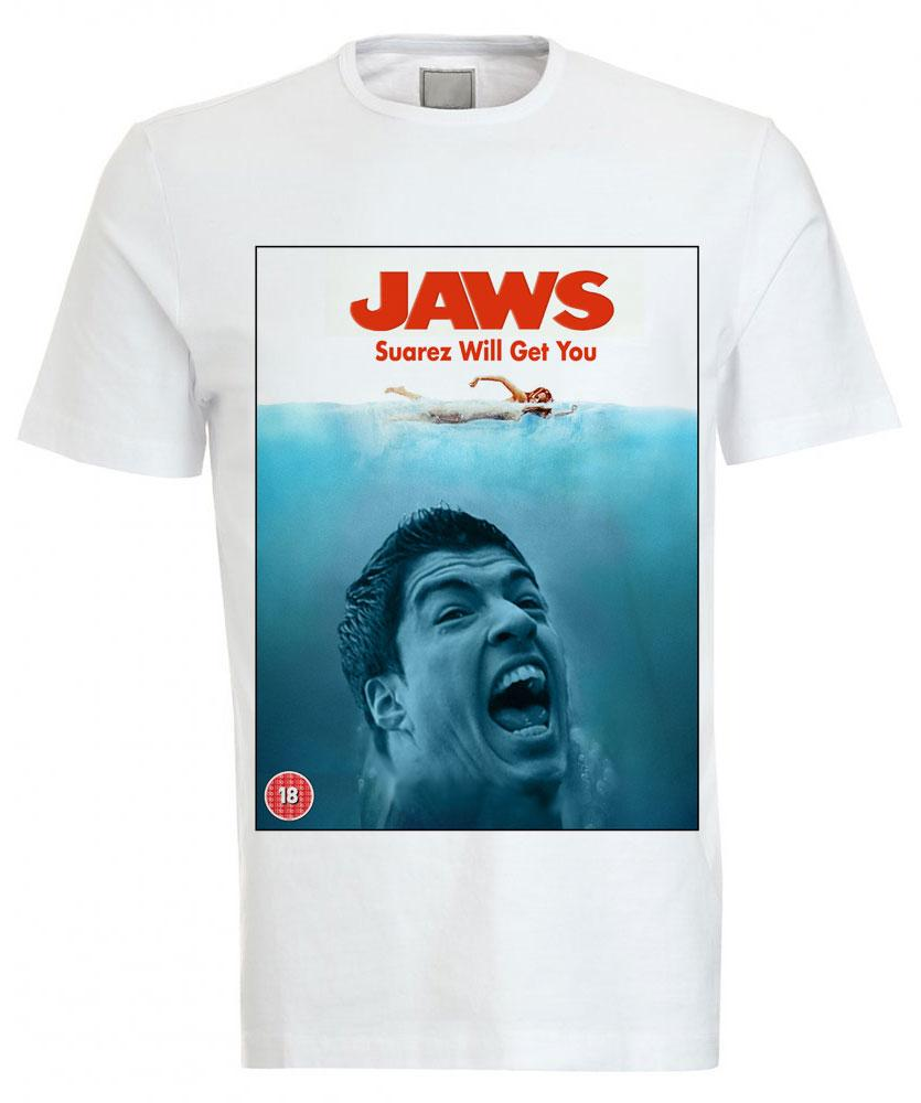 Luis Suárez T-Shirt | Bite | Jaws