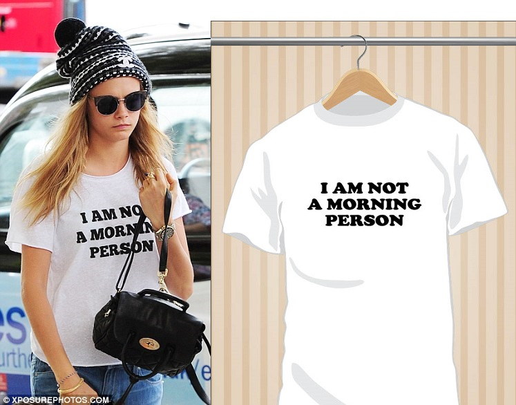 I Am Not A Morning Person T-Shirt | UppStudio