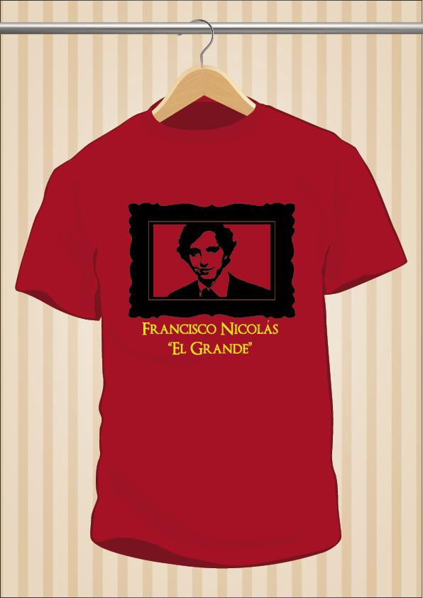 Camiseta Francisco Nicolás | Pequeño Nicolás | UppStudio