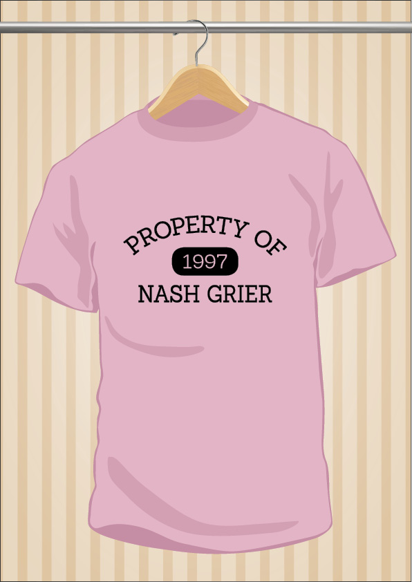 Property Of Nash Grier T-Shirt | UppStudio