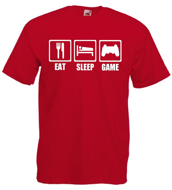 Eat. Sleep, Game T-Shirt