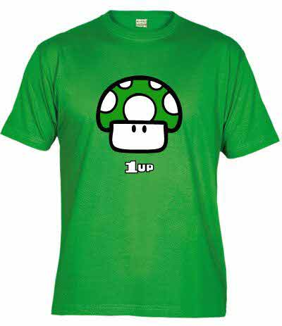 Mushroom 1up T-Shirt | Super Mario Bros