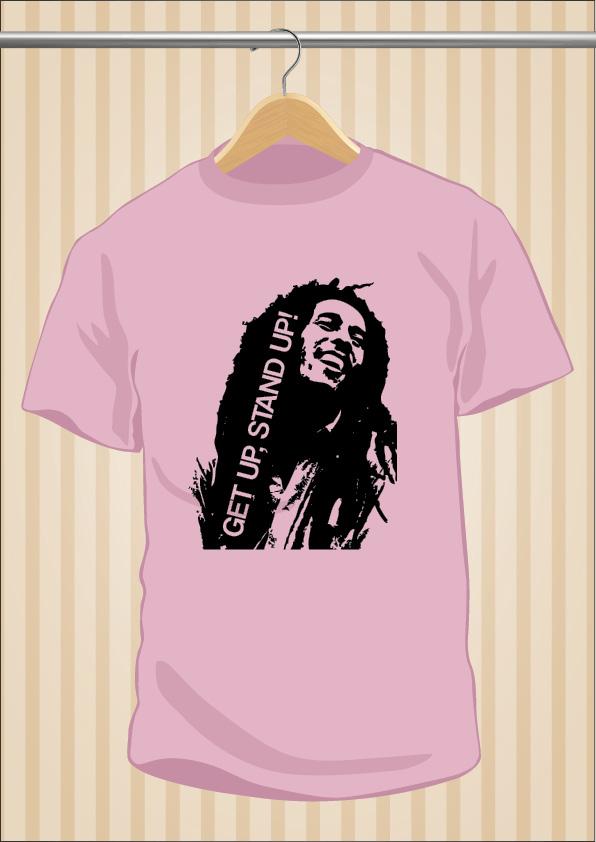 Bob Marley T-Shirt | Reggae | UppStudio
