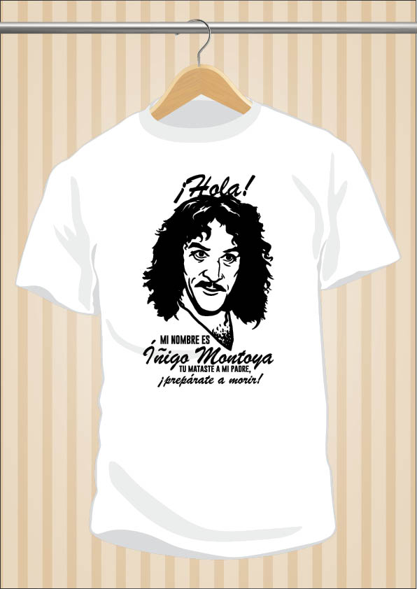 The Princess Bride T-Shirt | Íñigo Montoya | UppStudio