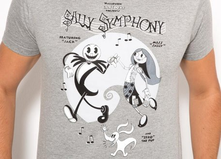 Sally Symphony T-Shirt | Nightmare Before Christmas