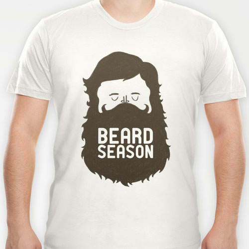 Beard Season T-Shirt | Hispter