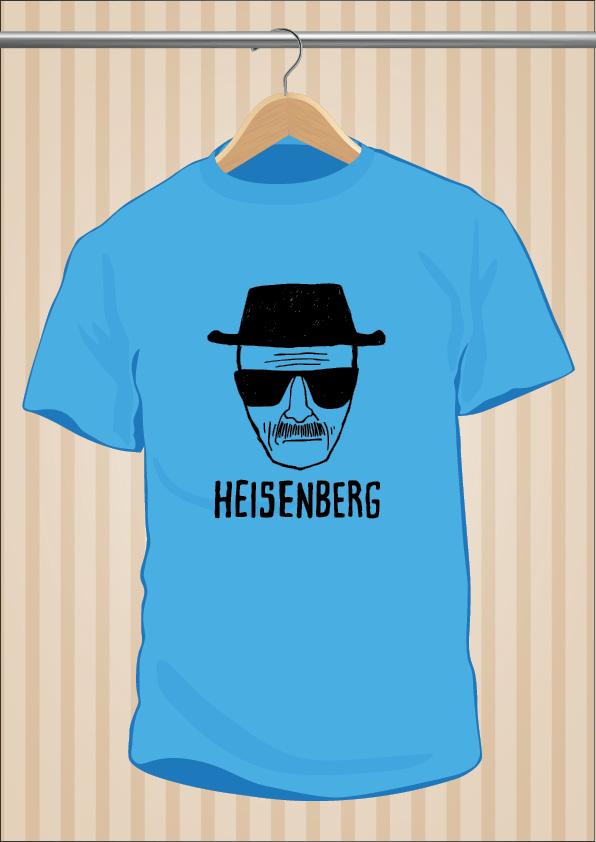 Heisenberg T-Shirt | Breaking Bad | UppStudio