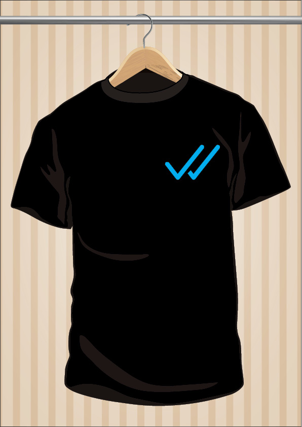 WhatsApp T-Shirt | Double Blue Check | Double Tick