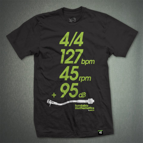 DJ T-Shirt | TT MATH