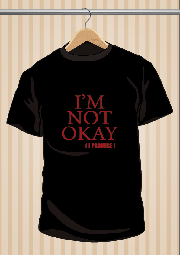 My Chemical Romance I'm Not Okay I Promise MCR T-Shirt Tee | UppStudio