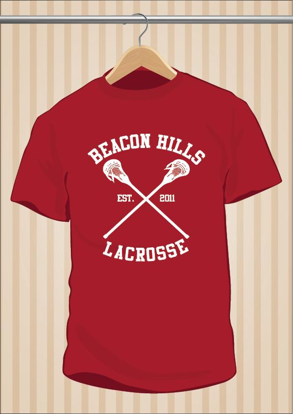 Teen Wolf Beacon Hills Lacrosse T-Shirt | UppStudio