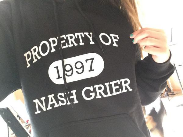 Property Of Nash Grier Hoodie | UppStudio