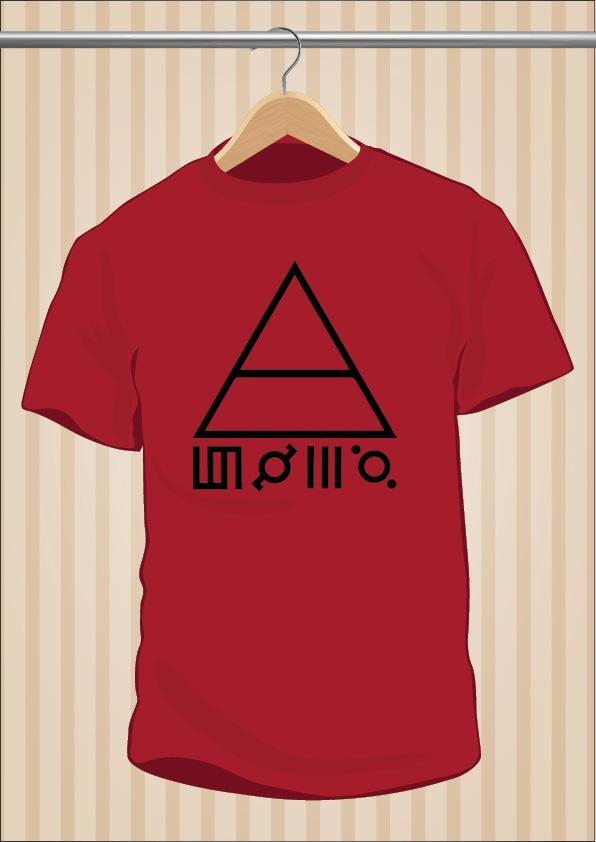 30 Seconds To Mars T-Shirt 30STM Symbols