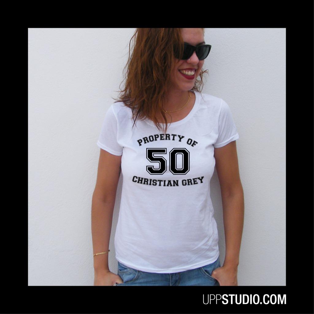 Property Of Christian Grey T-Shirt Tee 50 Shades Of Grey | UppStudio