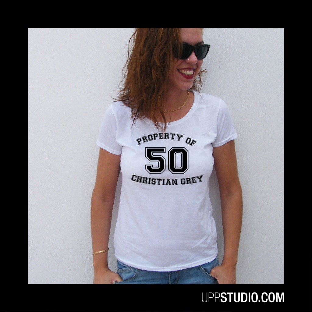 Property Of Christian Grey T-Shirt Tee 50 Shades Of Grey | UppStudio