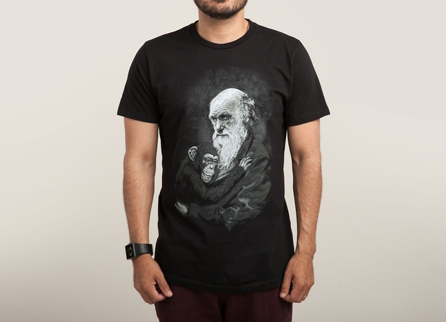Charles Darwin Evolution T-Shirt | Threadless