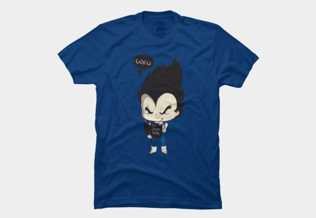 Vegeta T-Shirt | Goku | Design By Humans | Dragon Ball