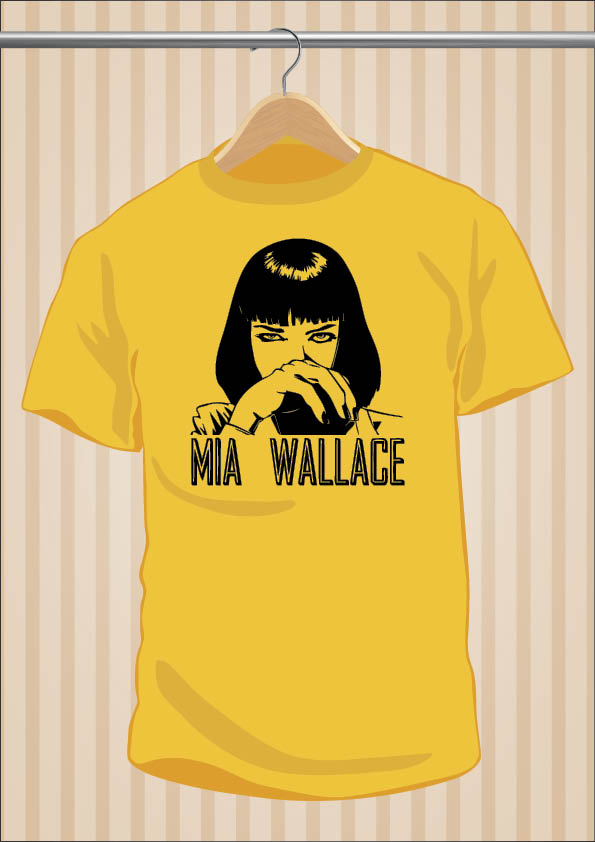 Pulp Fitcion Mia Wallace T-Shirt Tee | UppStudio
