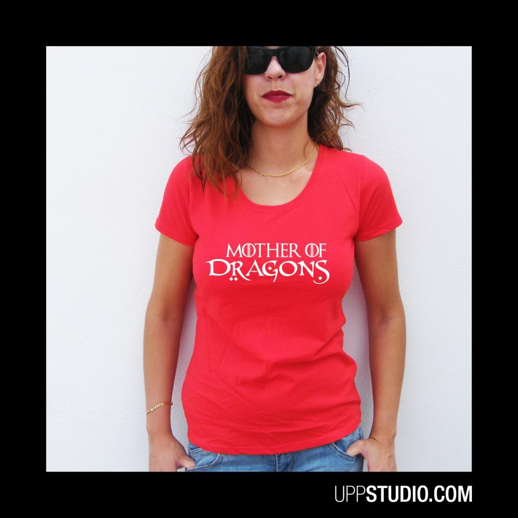 Mother Of Dragons T-Shirt Game Of Thrones Tee | UppStudio