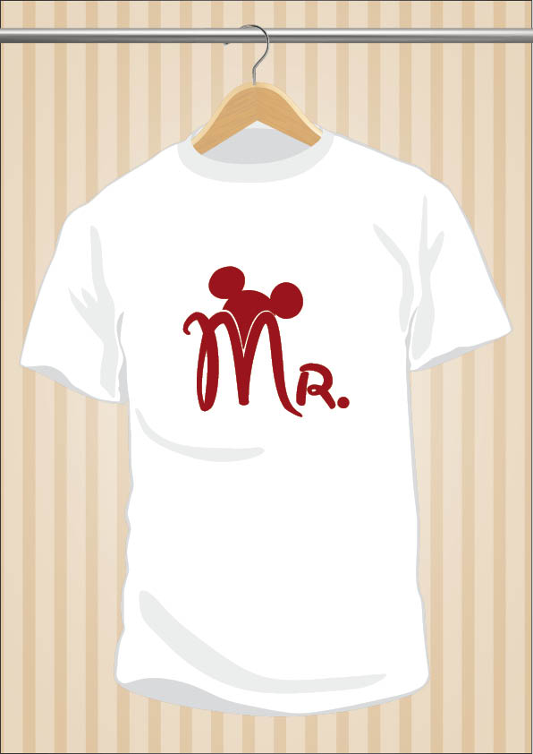 Mr Mickey Mouse T-Shirt Tee Disney | UppStudio