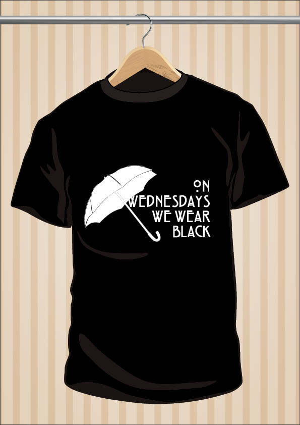 On Wednesdays We Wear Black AHS Coven T-Shirt | UppStudio